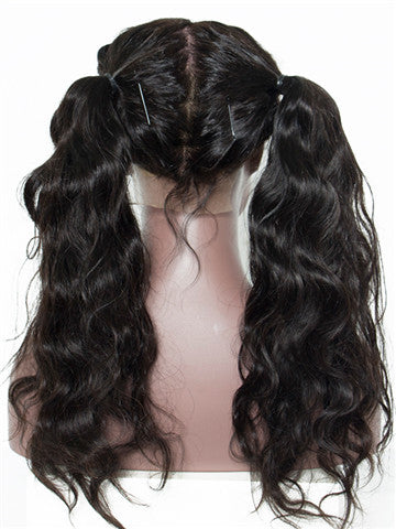 Body Wave Full Lace Brazilian Remy Human Hair Wig With Baby Hair - FashionLoveHunter