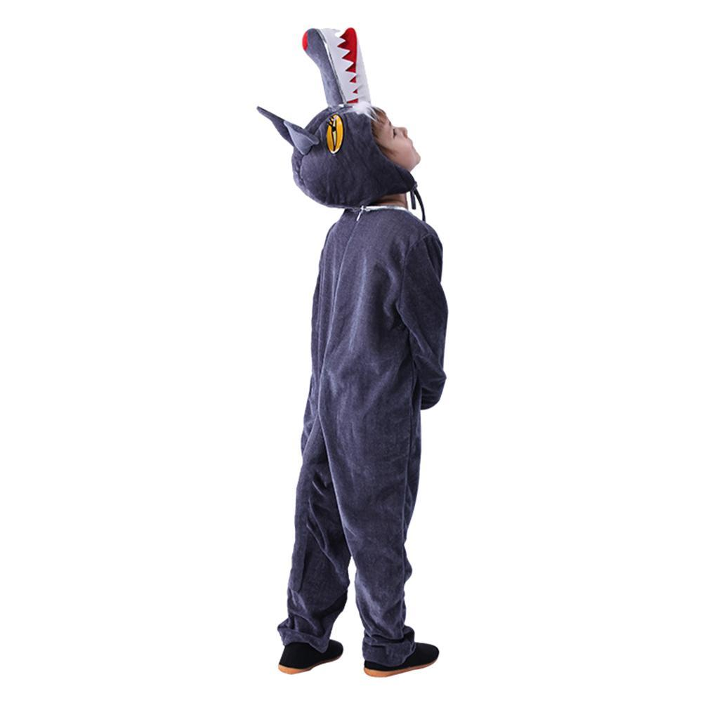 Children's Halloween Fairy Tale Cosplay Costume Wolf Animal Costume