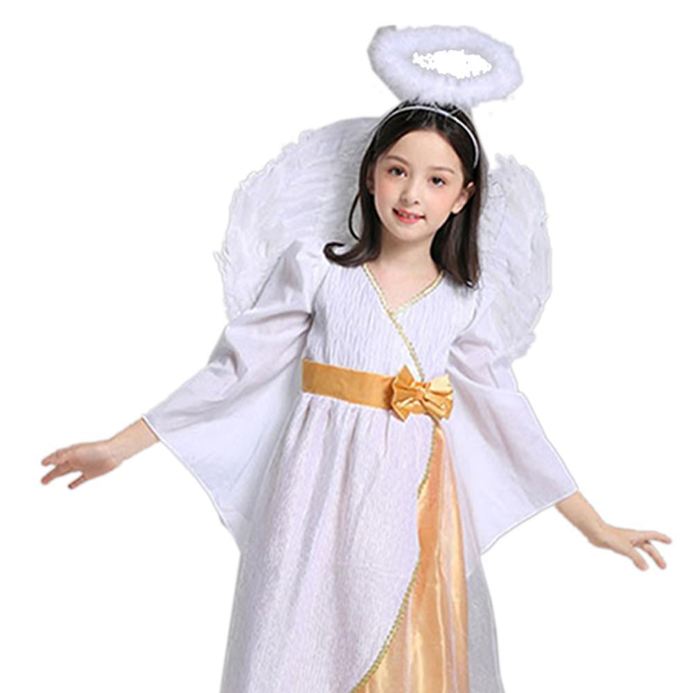Halloween Girls Guardian Angel Cosplay Costume Stage Performance Outfit