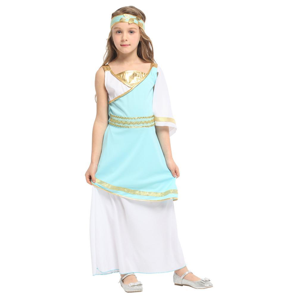 Kids Girls Halloween Costume Arabian Princess Dress Up
