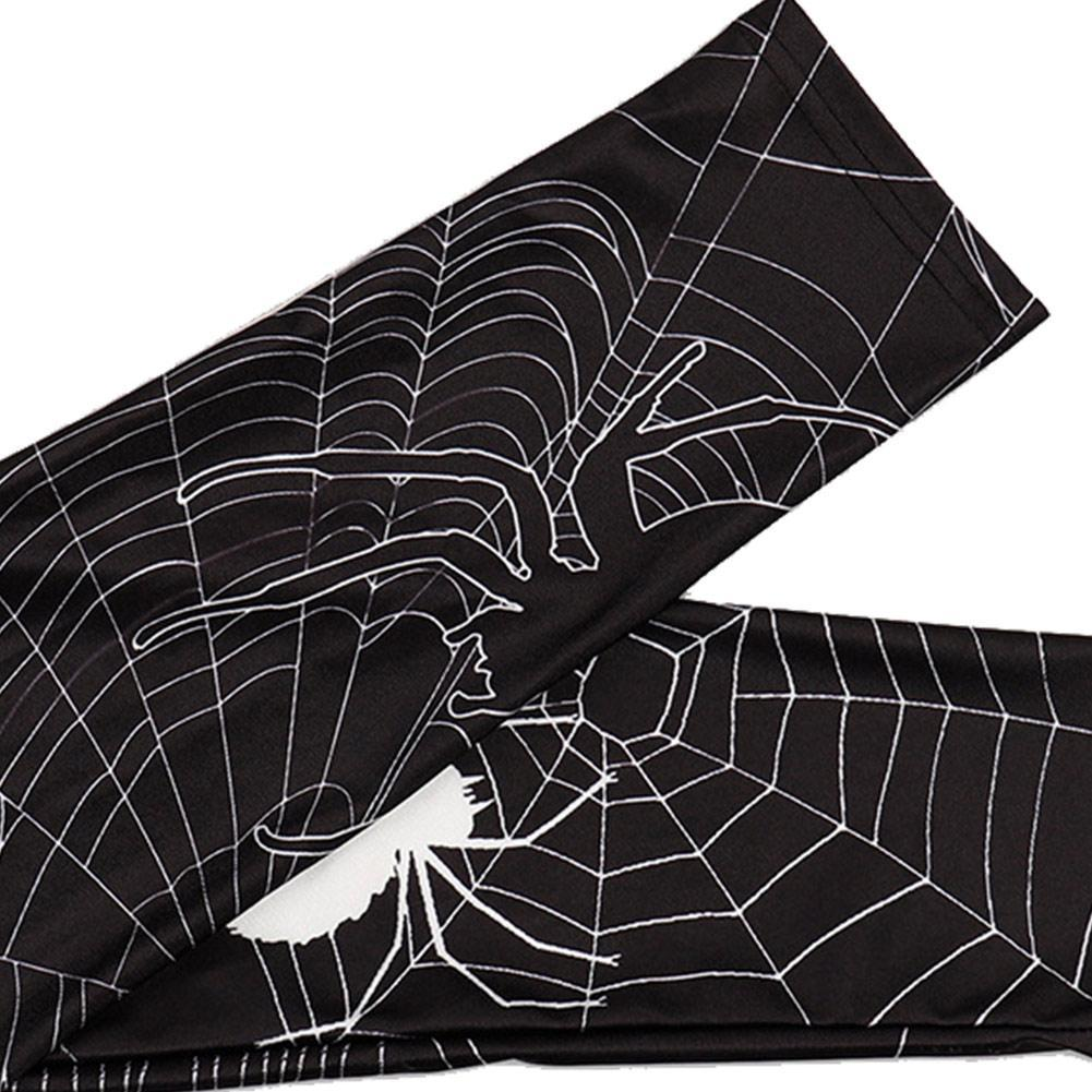 Women 3D Printed Halloween Spider Webs Ray Fluorescence Leggings Pant Tights Yoga Leggings