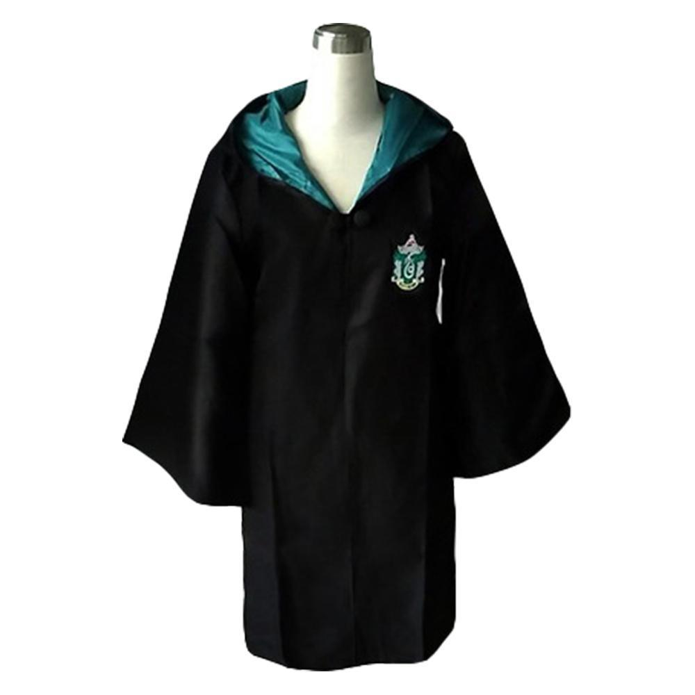 Halloween Harry Potter Cosplay Slytherin of Hogwarts Robe Costume