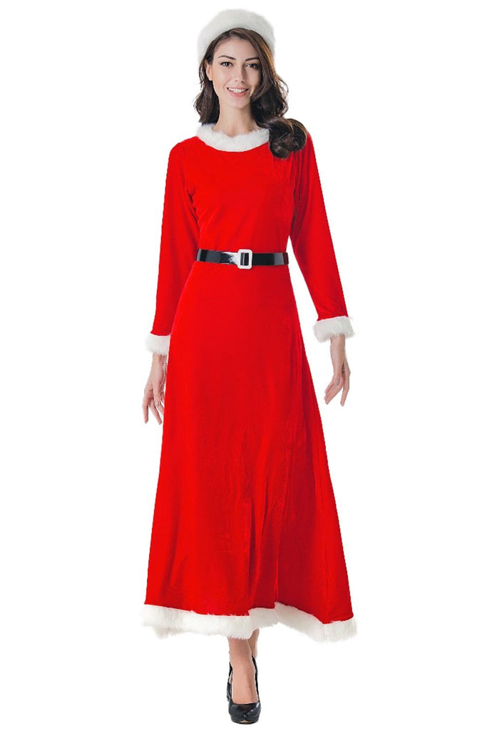 Women's Simply Mrs. Santa Claus Christmas Cosplay Costume