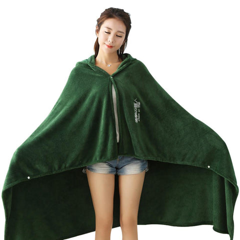 Attack on Titan Blanket Cloak Shingeki No Kyojin Survey Corps Cape Flannel Green