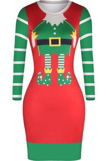 Women's Santa Christmas Dress