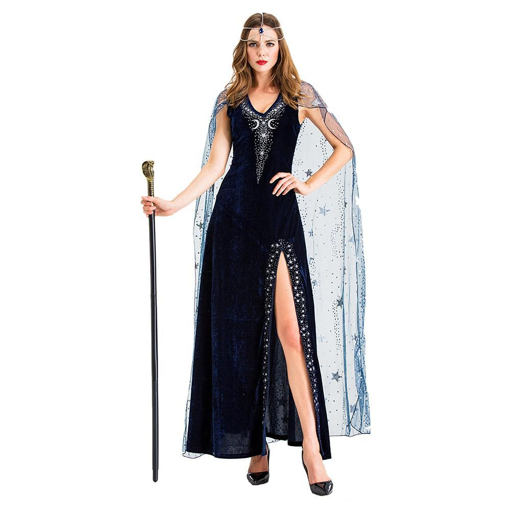 Women Egyptian Royal Cleopatra Costume Women Adult Egypt Queen Cosplay Costumes For Halloween Party Outfit