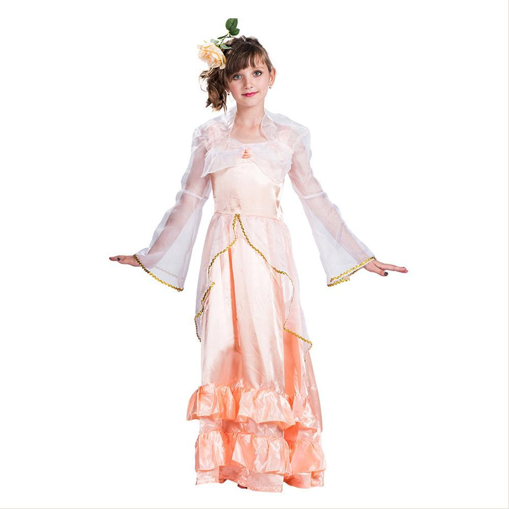 Girls Halloween Fairy Girl Costume Carnival Masquerade Outfit Gown