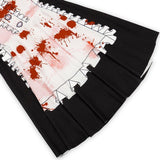 Halloween Horror Role-Playing Costume Cosplay Stage Suit Bloody Maid Dress