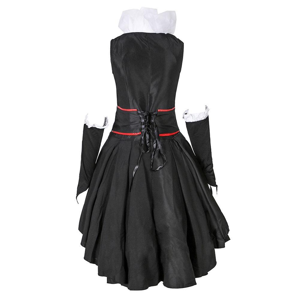 Women Halloween Queen of Hearts Cosplay Costume Fancy Party Dress Up Outfit