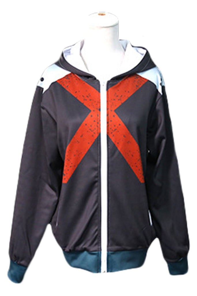 Unsiex Anime Boku No Hero My Hero Academia Bakugou Katsuki Cosplay Jacket Costume Sweater