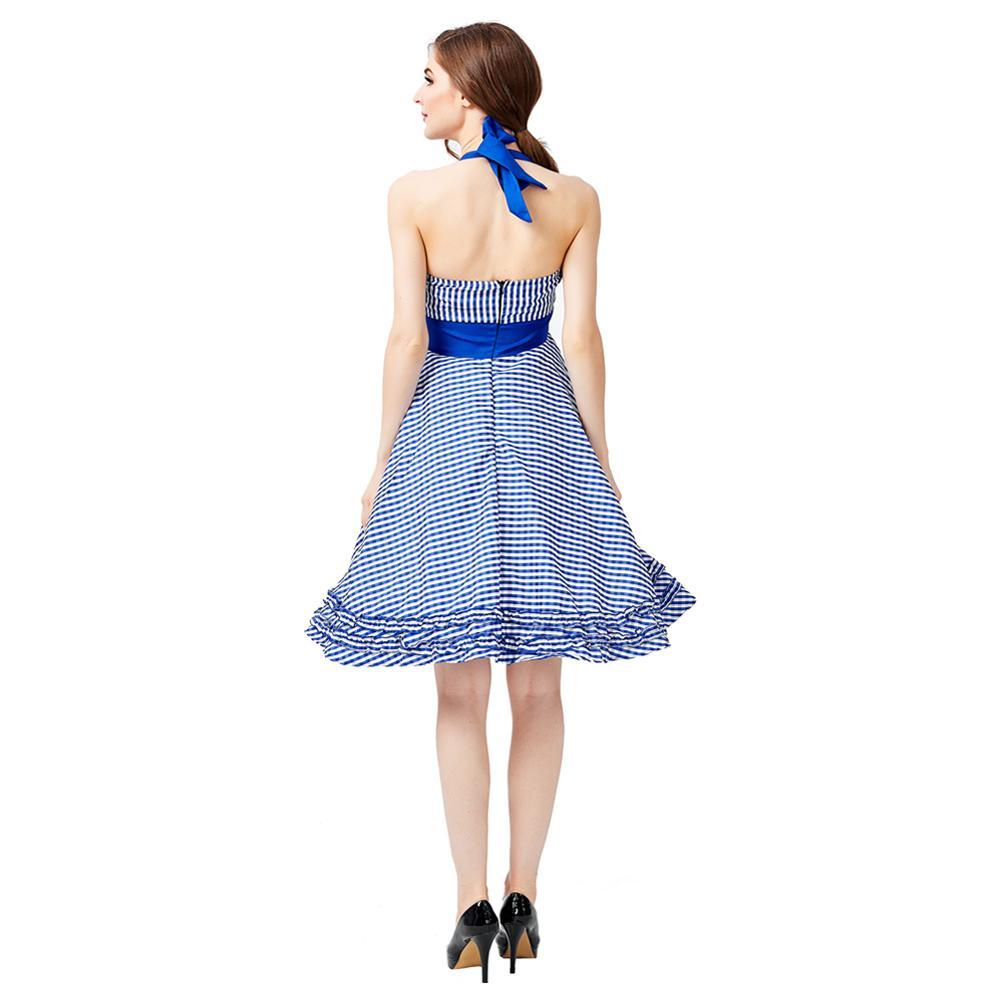 Women's Oktoberfest Fraulein Costume Strapless Dress