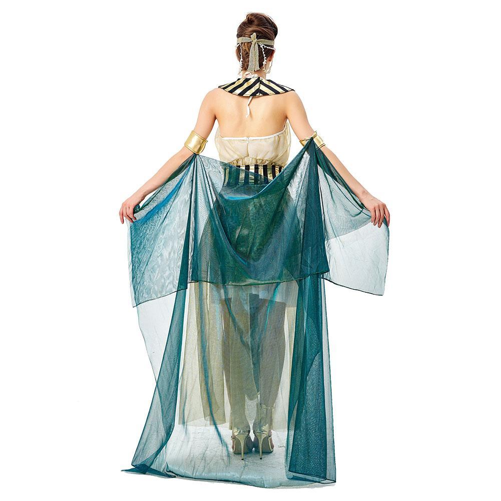 Women Halloween Queen Egyptian Cleopatra Costume Adults Sexy Cleopatra Costumes Cosplay Cleopatra Halloween Costume