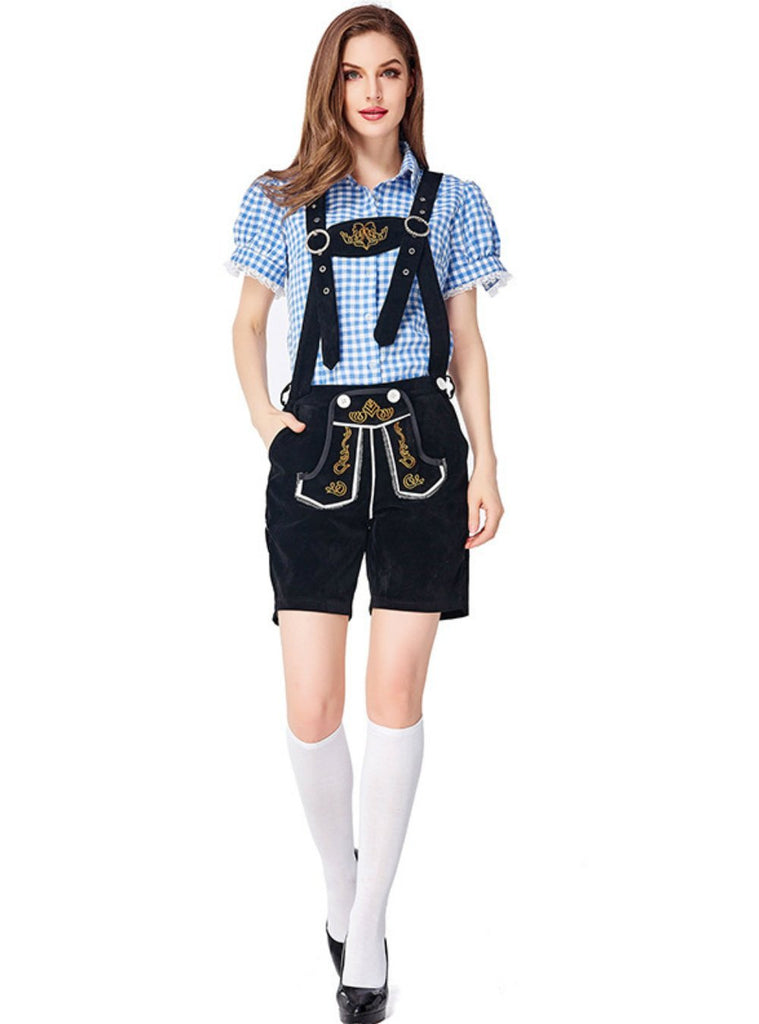 German Traditional Oktoberfest Couple Clothing