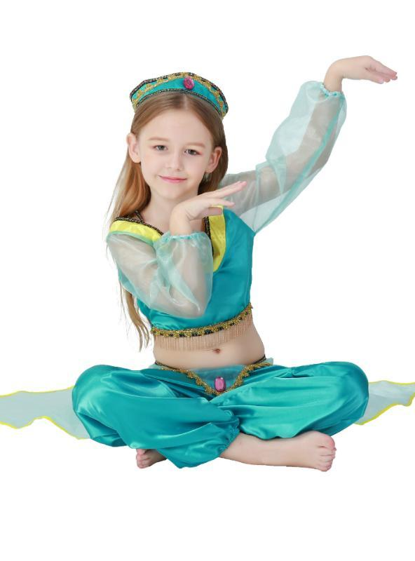 Halloween Arab Girl Belly Dance Dress