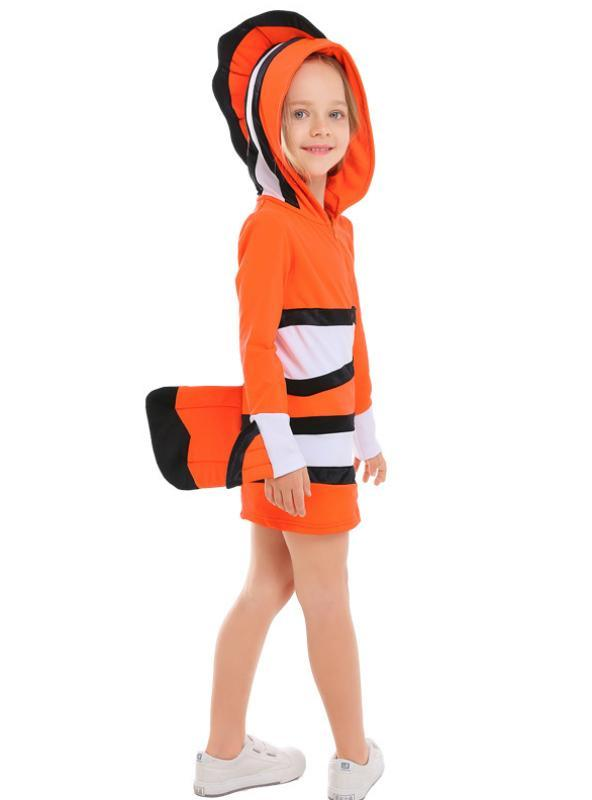 Clownfish Ocean Party with Halloween Cosplay