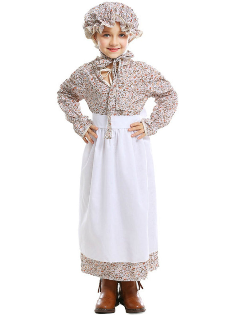 Children's Wolf Grandma Dress for Parents