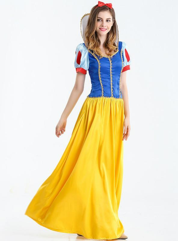 Halloween Costumes Cosplay Fairy Tale Snow White