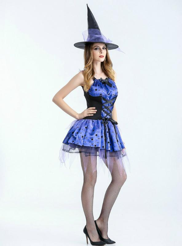 Witch Costume Halloween Role-Playing Uniform