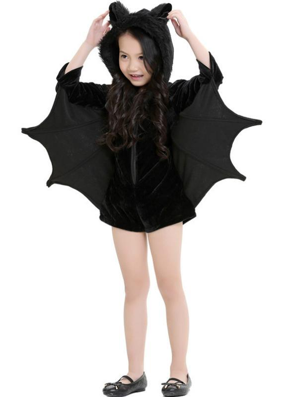 Halloween Costumes For Girls Black Bats