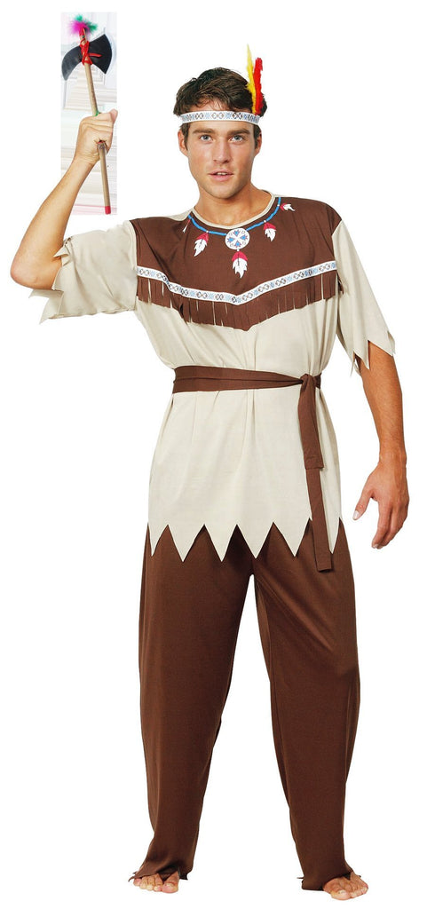 Halloween Hunter Costume Indian Native Adult Halloween Cosplay Stage Outfit