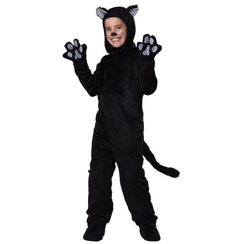 Adult/kids Deluxe Black Cat Costume