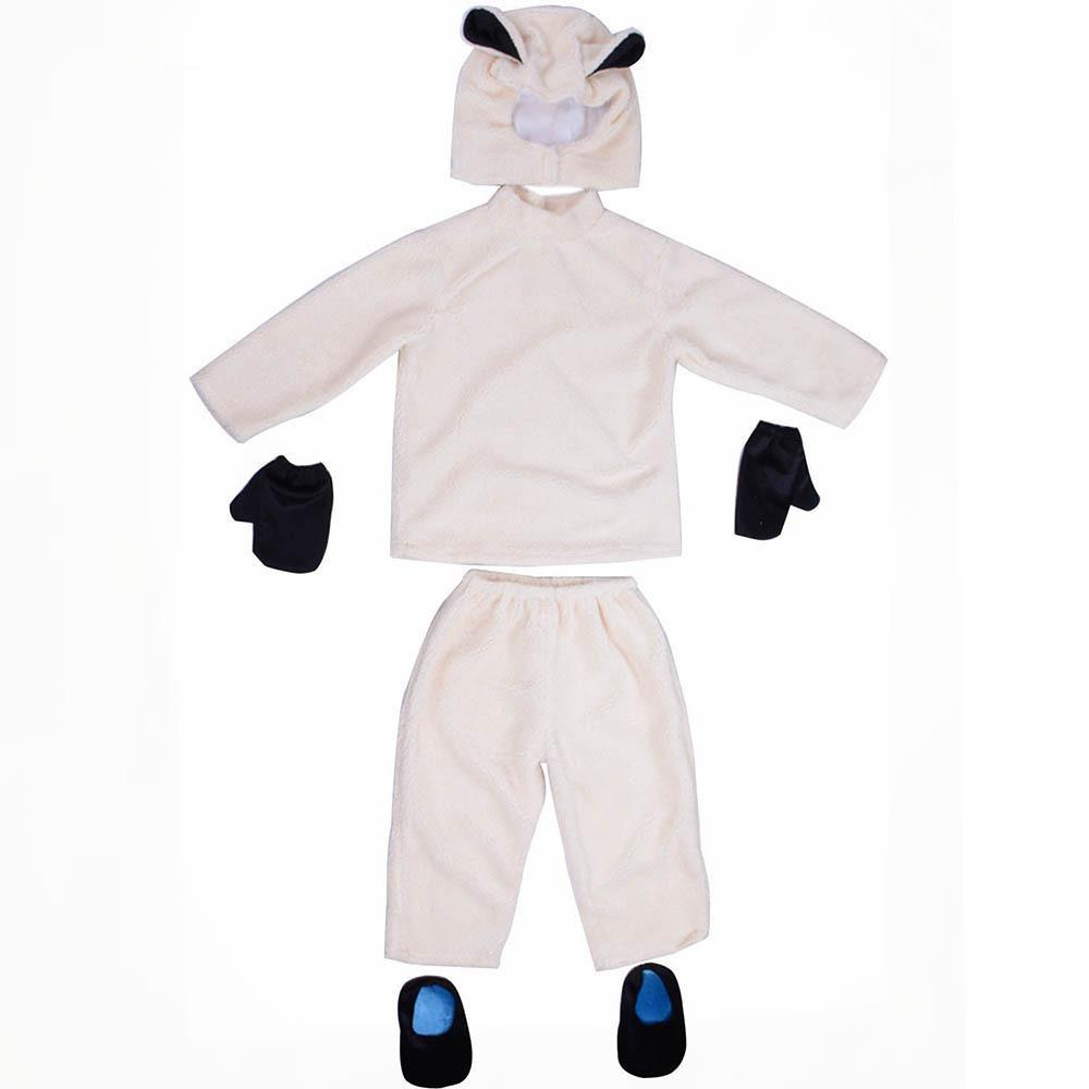 Baby Lamb Costume For Kids Halloween Animal Outfit For Children