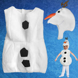 Frozen Olaf Cosplay Costume For Kids