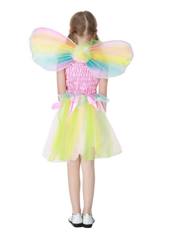 Lovely Rainbow Angel Skirt Halloween Princess Skirt