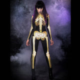 Golden Skeleton Costume