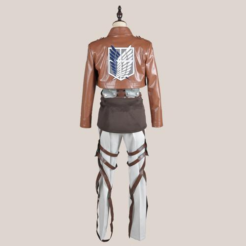 Attack on Titan Shingeki No Kyojin Rivaille Levi Cosplay Costume Full Set