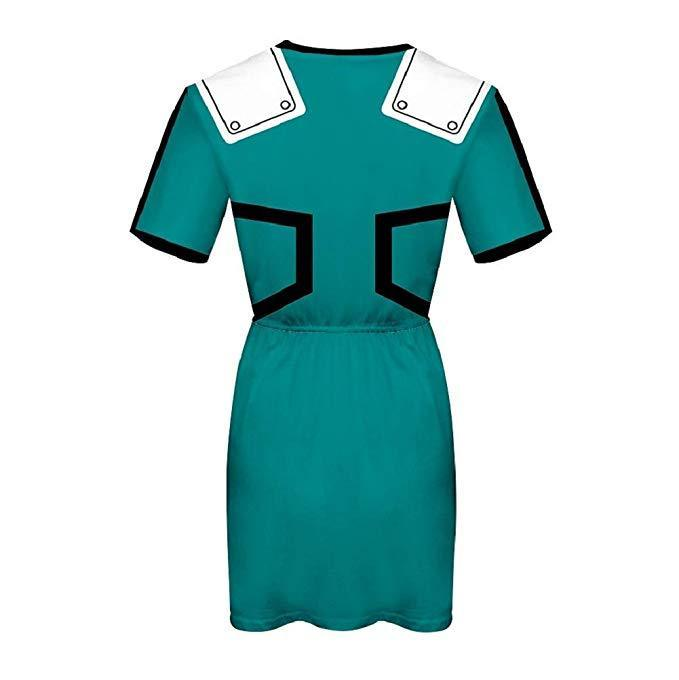 Boku No Hero My Hero Academia Skirt Izuku Midoriya Dress Outfit