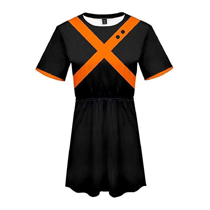 Boku No Hero My Hero Academia Skirt Bakugou Katsuki Dress Outfit