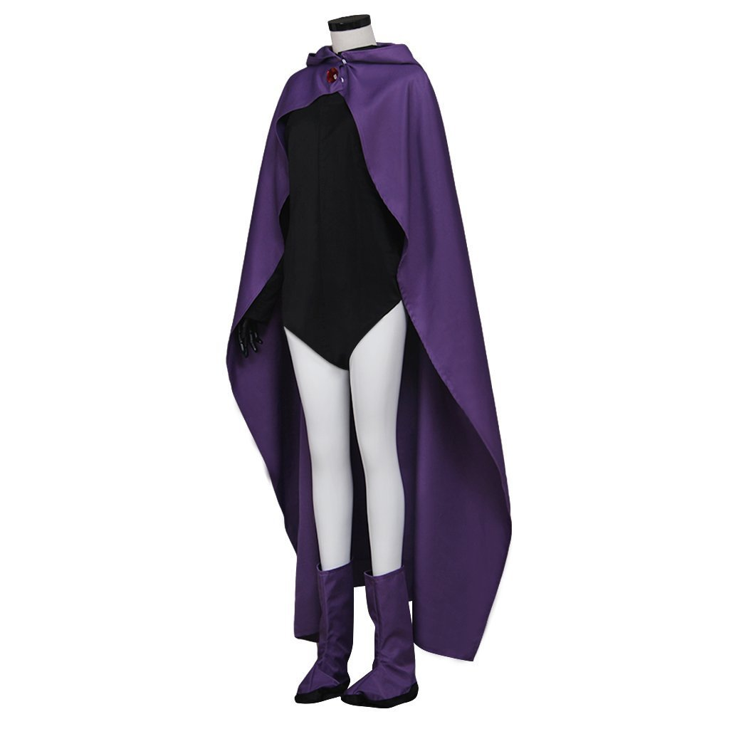 Teen Titans Raven Cosplay Costume Women Outfit Custom Made