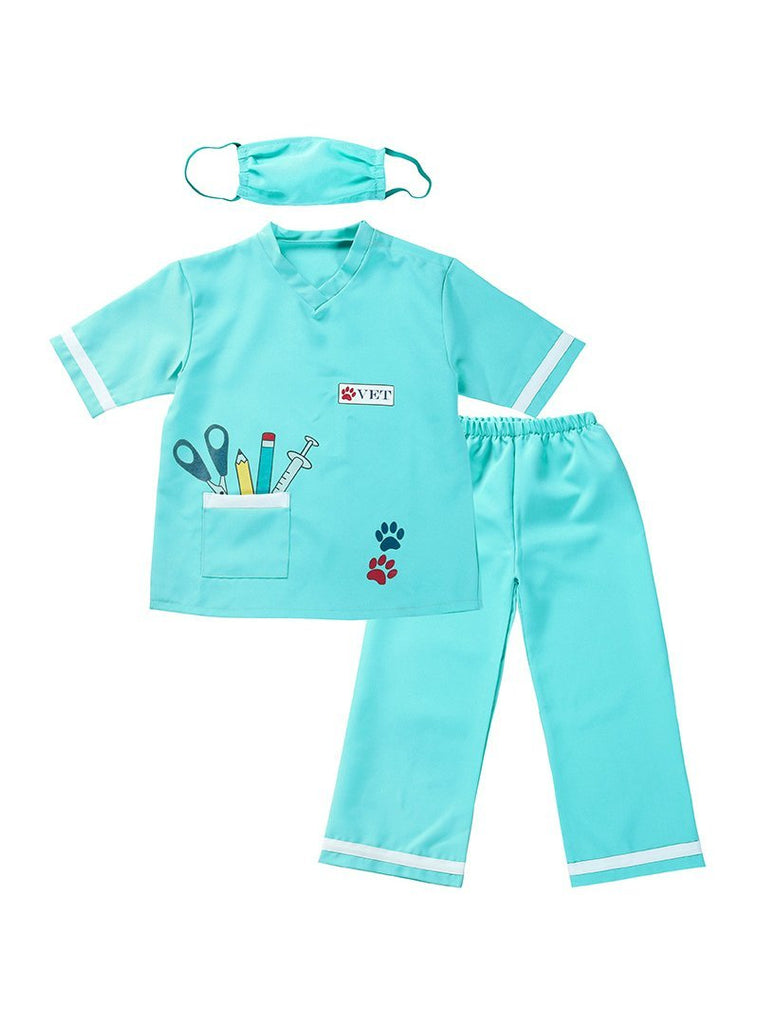 Veterinary Costume Children's Doctor Game Suit