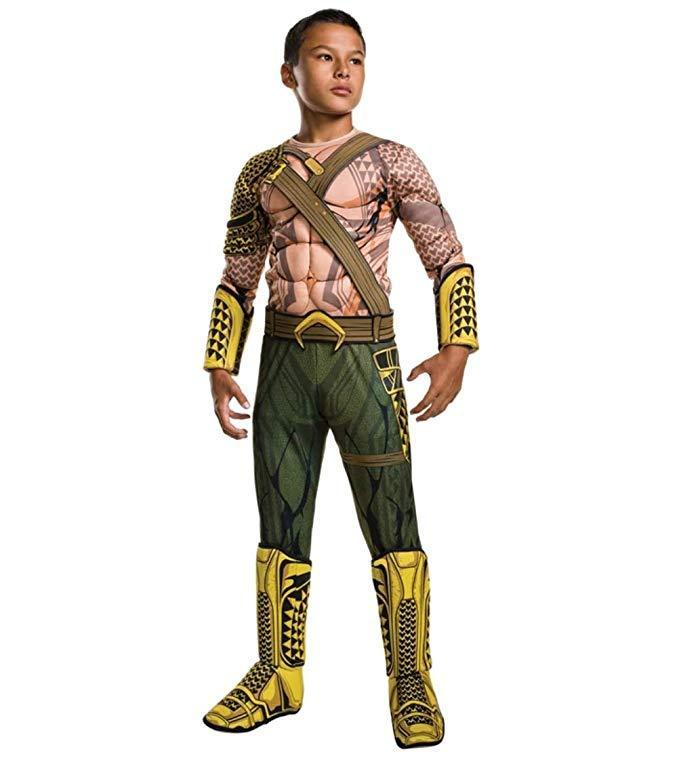 Halloween Costumes Superhero Aquaman Costumes Boys Muscle Kids Superhero Halloween Costumes