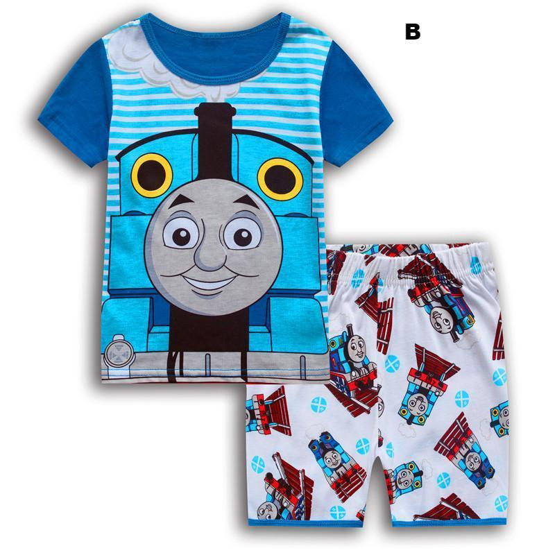 Thomas and Friends Boy's 2-Piece Pajama Shorts, Pants Set
