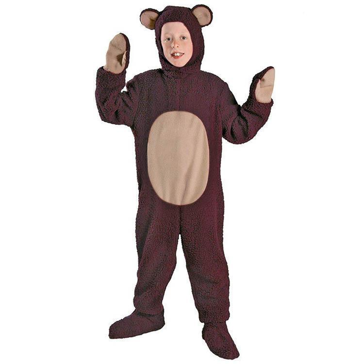 Adult/kids Deluxe Bear Costume