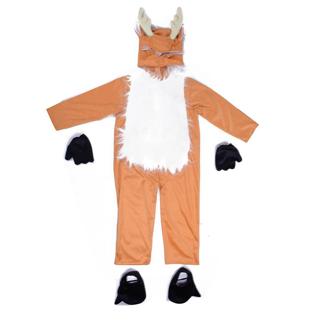 Baby Deer Costume Halloween Cosplay Animal Outfit for Kids