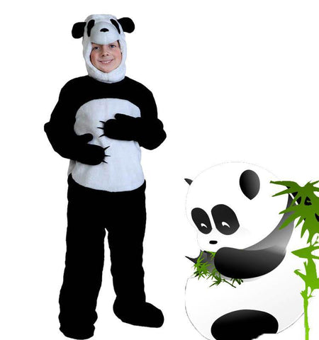 Adult/kids Deluxe Panda Costume