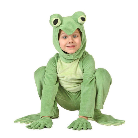 Adult/kids Deluxe Frog Costume
