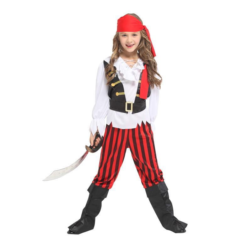 Halloween Costumes for Girls Rebel Posh Pirate Costume Suit Party Carnival Dress Up Outfit
