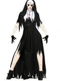 Halloween Doctor Zombie Bride Dress