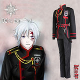 Anime D.Gray-man Linali Lenalee Lee Allen Walker Cosplay Costume Full Set
