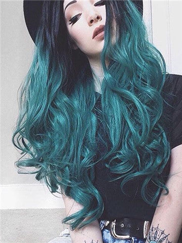 products/Black_Root_To_Dark_Green_Wave_Long_Synthetic_Lace_Front_Wig_6.jpg