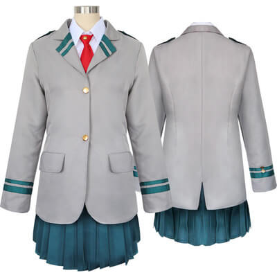 Boku no Hero Academia AsuiTsuyu Yaoyorozu Momo School Uniform Set