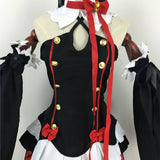 Coshome Owari No Seraph Of The End Krul Tepes Cosplay Costume 6Pcs/Set With Free Wig