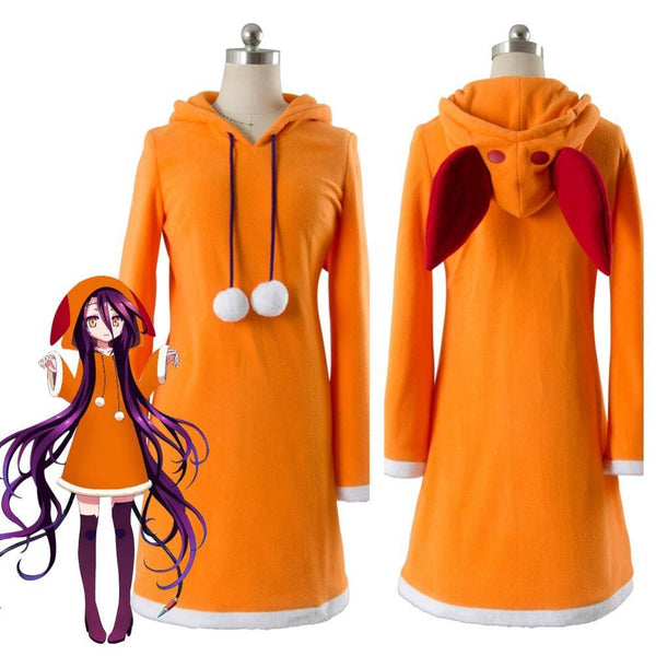 No Game No Life Zero Shuvi Dola Cosplay Costume Dress Custom Made