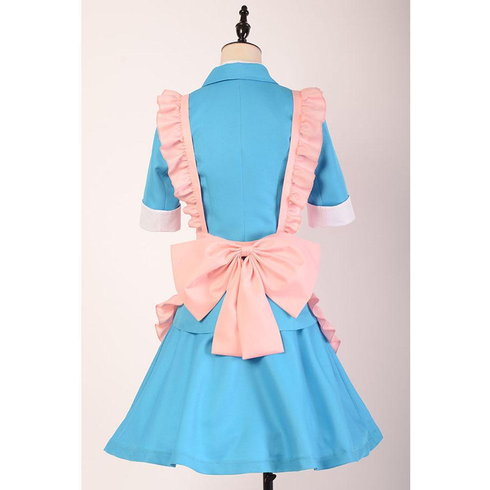 Danganronpa 3 Cosplay The End of Hope's Peak Academy Side Despair Chisa Yukizome Cosplay Costume Maid Suit