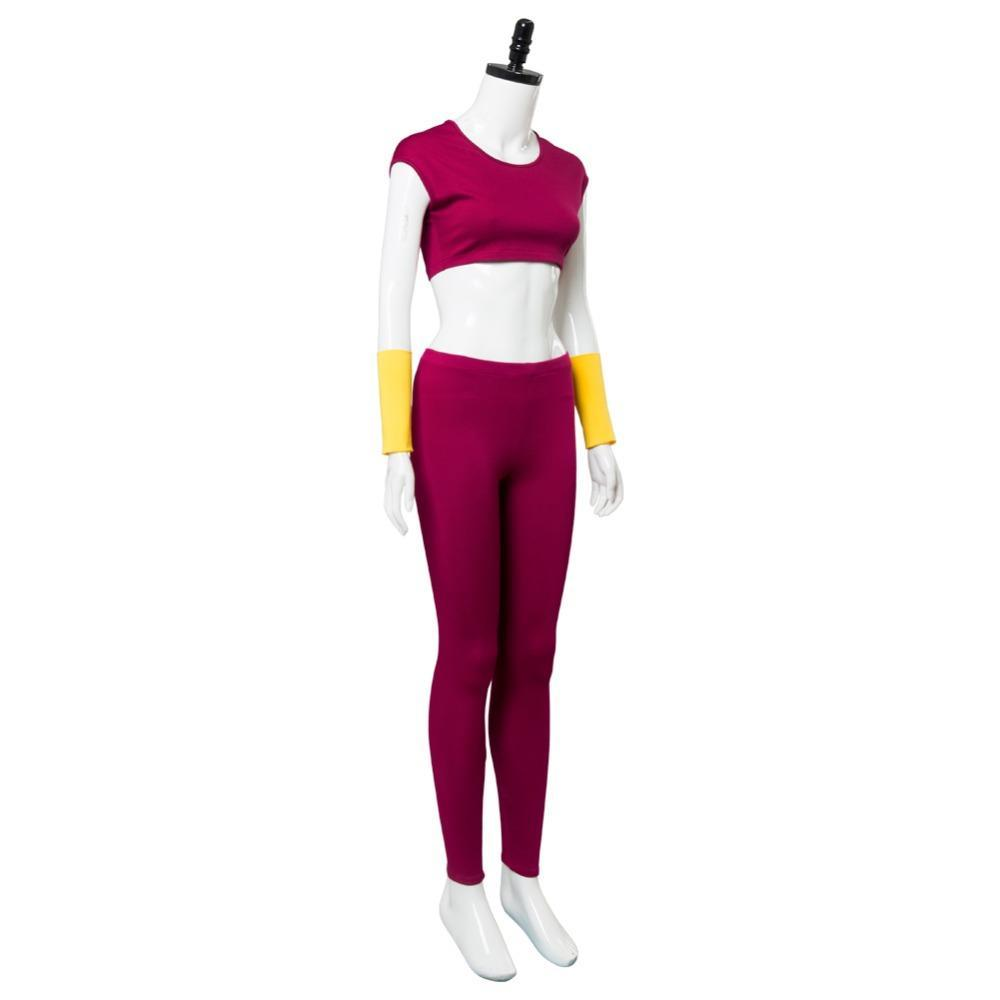 Dragonball Super Kefla Kefura Super Saiyan Potara Fusion Cosplay Costume