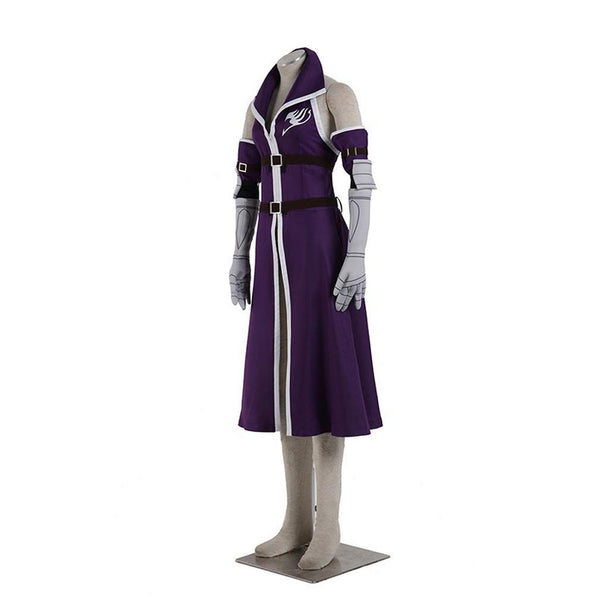 Fairy Tail A Erza Scarlet Cosplay Costume Halloween Uniform